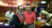 台北市金站獅子會長李偉煦(左)與副會長郭天明(右)帶頭做公益,熱心服務獎助學子。