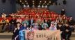 新北市長朱立倫和戲曲大師們共聚一堂,歡迎大家一同欣賞京劇藝術。