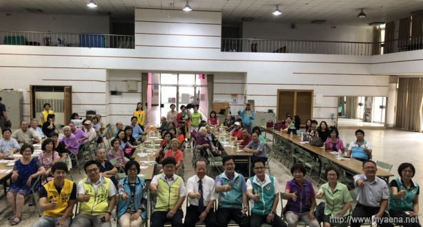建構高齡健康農村,台中市推廣高齡健康促進研習。