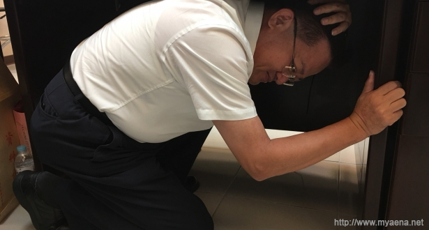 國家防災日全民地震演練 消防局長示範演練地震避難3步驟