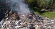 潭子第七公墓違法露燃營建廢棄物 中市檢警環破獲並移送偵辦