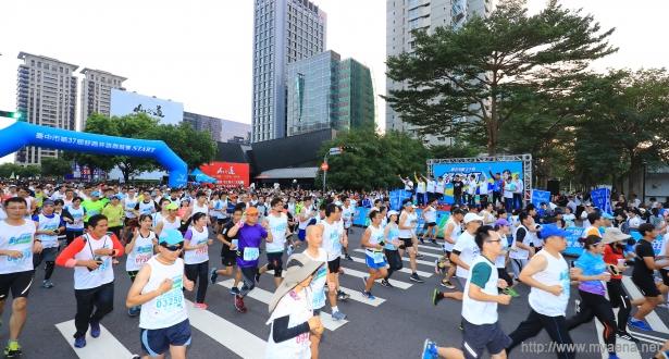 台中市規模最大路跑第37屆舒跑杯 3萬人開跑