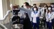 大葉大學烘焙學程張立功老師示範烘豆機操作
